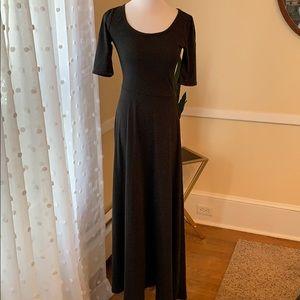 LuLaRoe XS Maxi Dress Polka Dots In EUC
